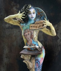 GERMANY: BODYPAINTING TROPHY 2018 IN LEIPZIG